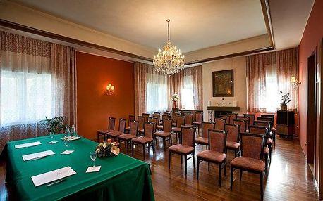 Super ubytování blízko Benátek v luxusním hotelu La Meridiana****