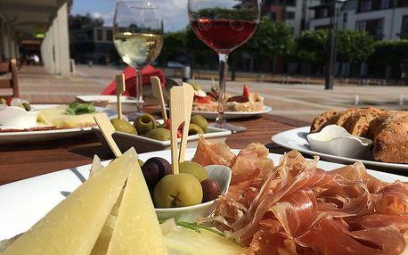 Degustační menu s víny v Café Jamón