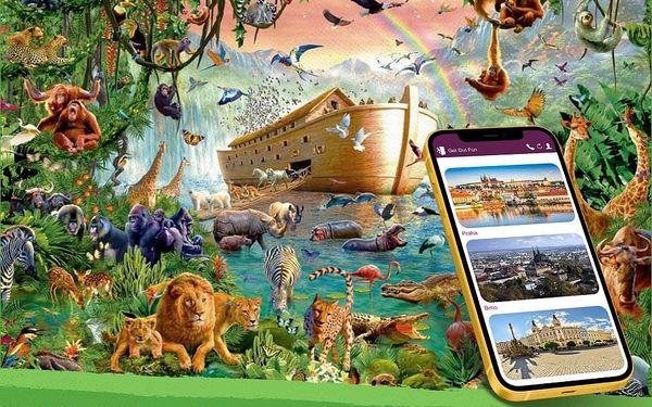 Pražská Zoo - venkovní úniková hra