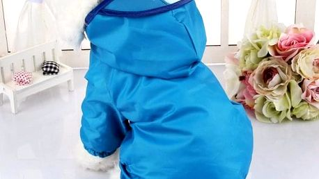 Nepromokavá psí bunda - 5_velikost č. 2 - dodání do 2 dnů