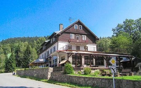 Orlické hory v apartmánu či pokoji v Horské chatě Orlice s polopenzí - ideální pro turisty