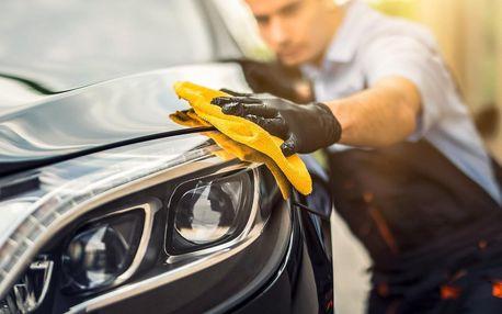 Mytí vozidla, čištění interiéru či aplikace nano vosku