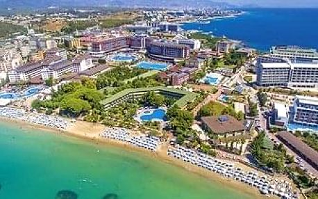 Turecko - Alanya letecky na 7-12 dnů, ultra all inclusive