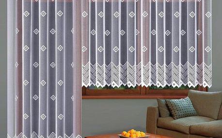 Forbyt Kusová záclona Barbora, 300 x 150 cm, 300 x 150 cm