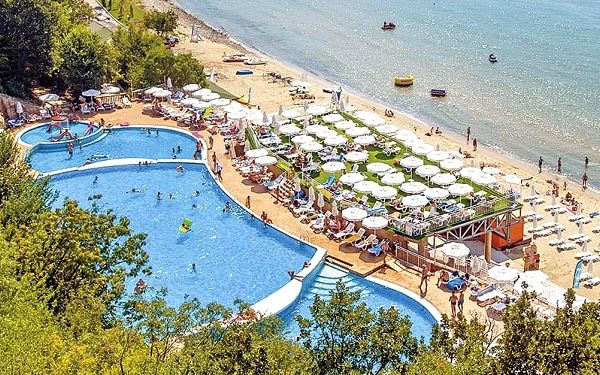 Hotel Paradise Beach, Burgas, letecky, all inclusive