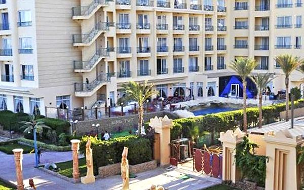 Hotel King Tut Aqua Park Beach Resort, Hurghada, letecky, all inclusive2