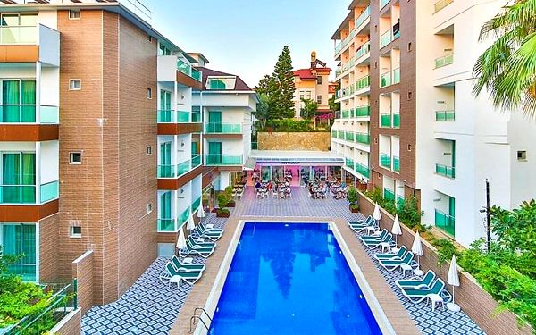 Hotel Kleopatra Atlas, Turecká riviéra, letecky, all inclusive3