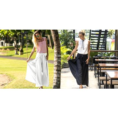 Elegantní kalhotová sukně z Bali
