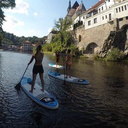 Výlet na paddleboardu pro dva