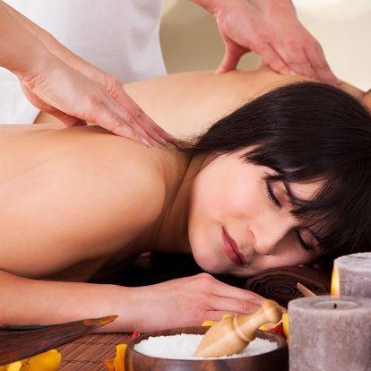 Hodinové hýčkání pro dvě osoby: párová masáž