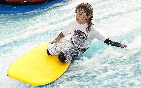 Surf aréna - simulátor + videozáznam