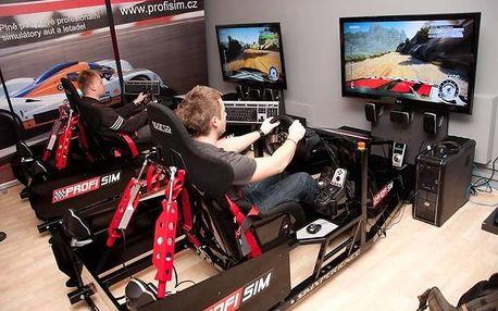 Pohyblivý závodní simulátor Brno