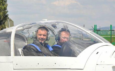 Pilotem letadla na zkoušku Brno