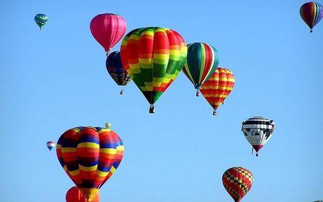 Prémiový let balonem