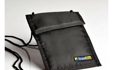 TravelBlue Bezpečnostní pouzdro/peněženka na krk TBU121