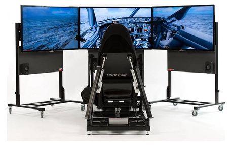 Pohyblivý letecký simulátor Brno