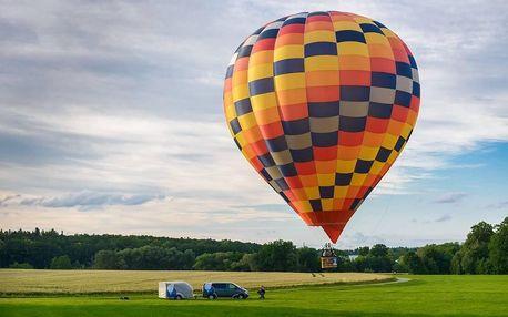 Klasický let balonem