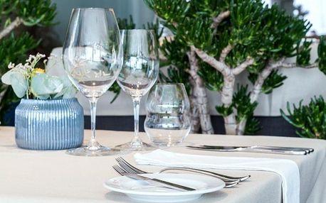 Romantická večeře v luxusní restauraci Borgo Agnese Brno pro dva
