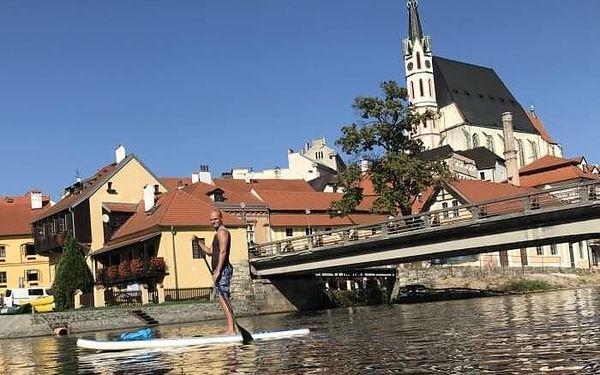 Výlet na paddleboardu pro dva do Zlaté Koruny   Český Krumlov   Duben - srpen.   4 hodiny.2