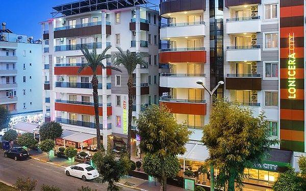 Hotel Lonicera City, Turecká riviéra, letecky, all inclusive5