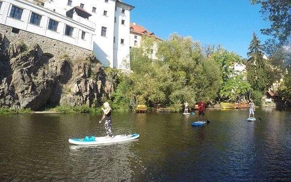 Výlet na paddleboardu pro dva do Zlaté Koruny   Český Krumlov   Duben - srpen.   4 hodiny.3
