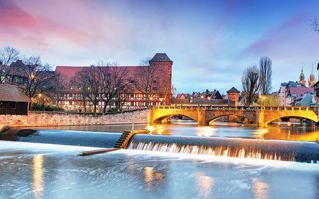 Vánoční trhy v Norimberku a starobylý Bamberg, Bavorsko