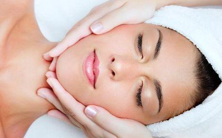 Kosmetické balíčky: ošetření pleti vč. masáže