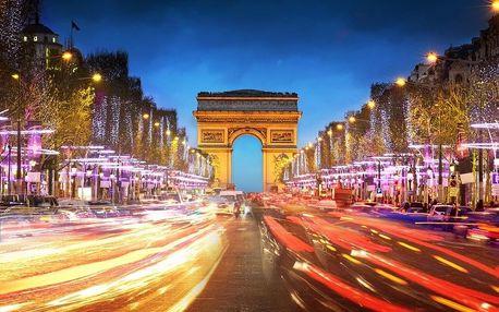 Vánoční Paříž - adventní romantika pod Eiffelovou věží, Île-de-France