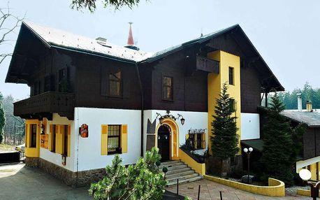 Hotel Orion s výhledem na Ještěd se snídaní, děti do 15 let zdarma