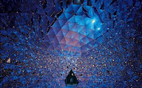 Magické muzeum křišťálů Swarovski a vánoční Innsbruck, Tyrolsko