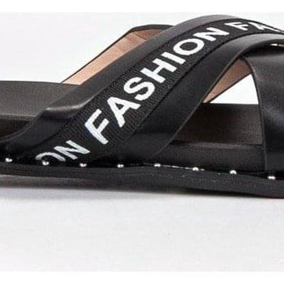 Fashion shoes Pantofle Fashion 888-1B Velikost: 37 (23,5 cm)