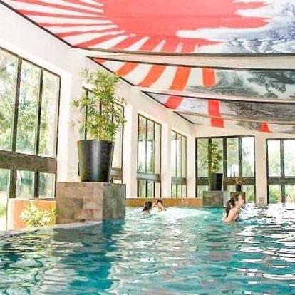 Maďarsko u Egeru: Oxigén Hotel **** s přepychovým wellness, polopenzí a animacemi + dítě do 11 let zdarma