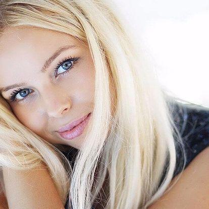 Kosmetické ošetření dle výběru vč. masáže obličeje