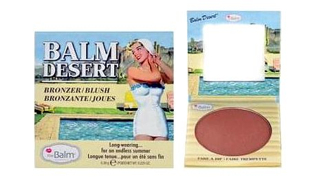 TheBalm Balm Desert Bronzer & Blush 6,39 g bronzer a tvářenka v jednom pro ženy