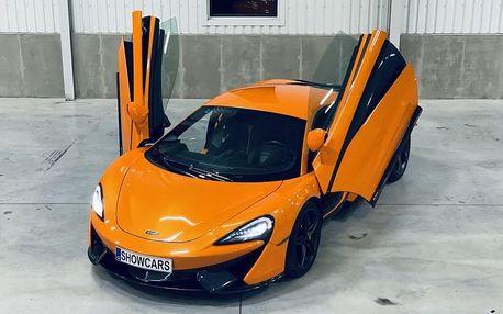 Jízda v McLaren 570 S
