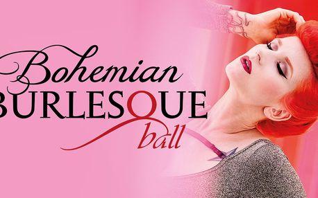 Bohemian Burlesque Ball s drinkem a rautem