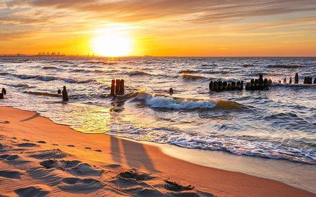 Zájezd k Baltskému moři s ubytováním a polopenzí