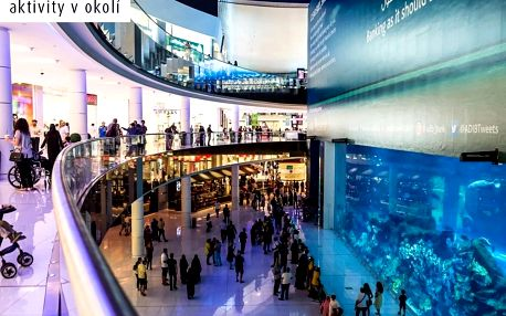 Spojené arabské emiráty - Dubaj letecky na 8 dnů, plná penze