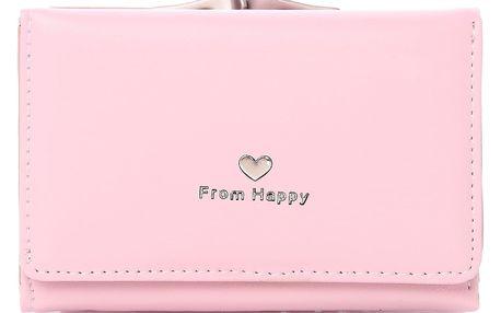 Kutti fashion Růžová peněženka 11012-10PI Velikost: UNI