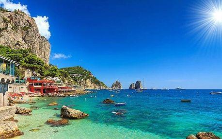 Poznávací zájezd do jižní Itálie na 5 dní s výstupem na Vesuv
