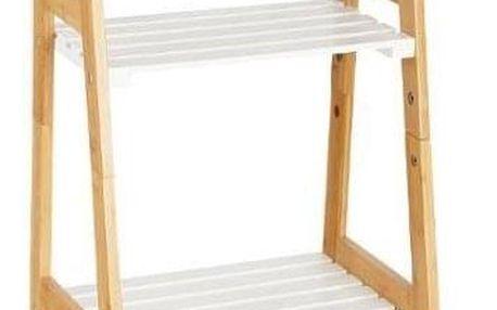 5five Simple Smart Regál koupelnový Bambou - bambusové dřevo, 4 úrovně