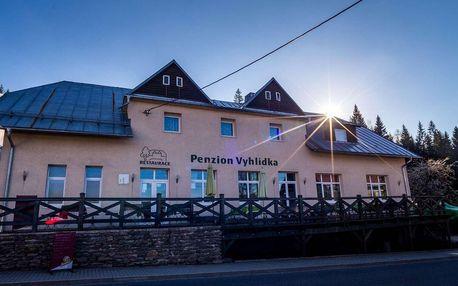 Penzion Vyhlídka na Šumavě s polopenzí a platností do října 2020