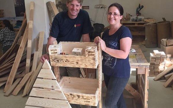 Jak vyrobit nábytek z palet - víkendový workshop2