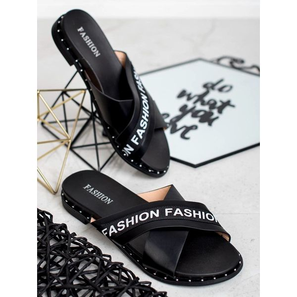 Fashion shoes Pantofle Fashion 888-1B Velikost: 37 (23,5 cm)2
