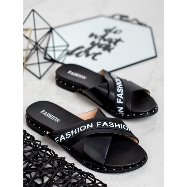 Fashion shoes Pantofle Fashion 888-1B Velikost: 37 (23,5 cm)3