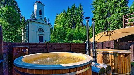 Jeseníky přímo v centru Karlovy Studánky: Hotel Džbán *** s Thermal Parkem či pivní koupelí