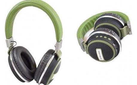 Bezdrátová sluchátka Shock zelená
