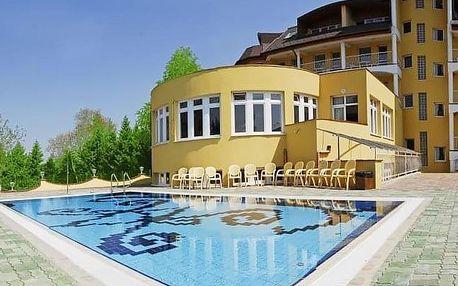 Pobyt v lázeňském městě v Hotelu Venus*** s polopenzí a wellness