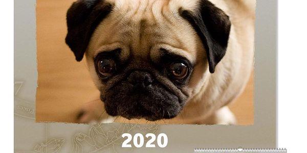 Nástěnný fotokalendář z vlastních fotografií 3 + 1 zdarma3