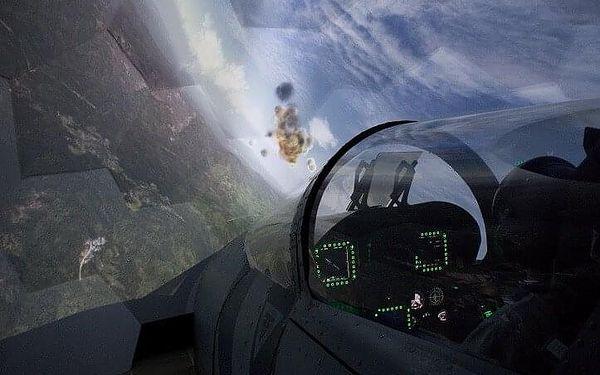 Let na simulátoru stíhačky F/A-18 Hornet   Brno   Celoročně.   45 min. let + instruktáž.2